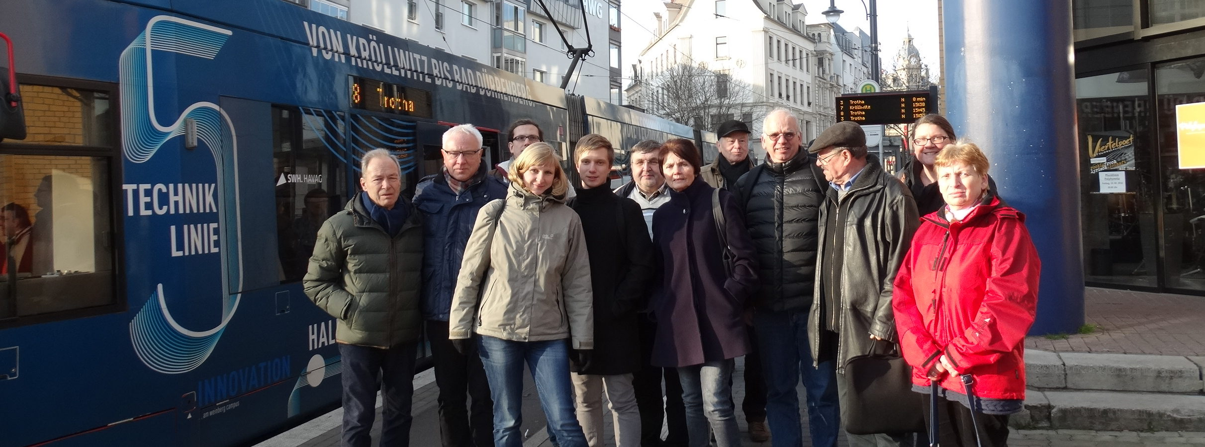 Treffen des Erfurter und Halleschen Fahrgastbeirats in Halle/Saale im Februar 2016. Foto: Michael Paak